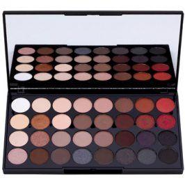 Makeup Revolution Flawless 2 paleta očních stínů se zrcátkem  20 g